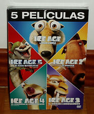 ICE AGE THE COLLECTION COMPLETE 5 DISCS DVD NEW SEALED ANIMATION (WITHOUT OPEN