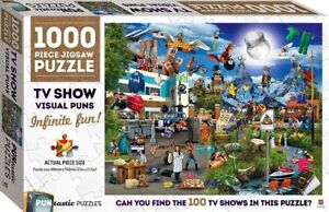 1000 Piece PUNtastic Jigsaw Puzzle - TV Show Visual Puns
