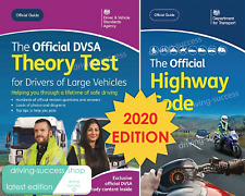 2020 DVSA THEORY TEST BOOK FOR LGV / HGV / PCV DRIVERS & HIGHWAY CODE BOOK