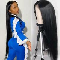 Hot Long Silky Straight Human Hair Wigs 8A Peruvian Real Full Lace Wigs Women Cc