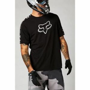 Fox Racing 2021 Ranger Drirelease s/s Short Sleeve Jersey Black