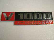 MOTO GUZZI SIDE COVER BADGE FOR THE MOTO GUZZI  V1000 CONVERT