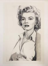 """Marilyn Niagara"" Ltd. Ed. Lithograph, Hand signed, Robert Scott Chiarella"
