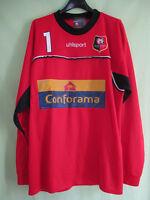 Maillot Uhlsport Rennes Conforama Stade Rennais Vintage porté #1 Vintage - 198