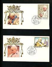 Postal History Poland Pope John Paul II Birthday 5/18/1990 Wadowice Group of 5