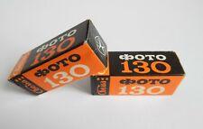 Film Svema Foto 130 type 120 Black & White Lomography, x2 roll Ussr Expired 1978