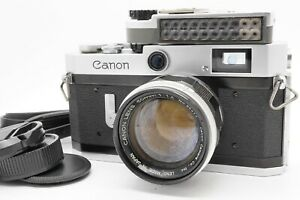 [MINT CLA'd] Canon Model Populaire P Rangefinder 50mm f/1.4 Meter From Japan