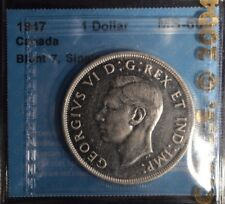 1947  Canada Dollar  -  Graded - CCCS MS-60 - blunt 7, single HP
