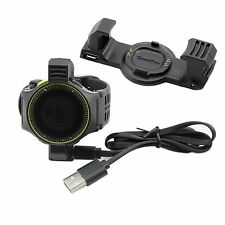 USB Caricabatterie Dati Cavo per Garmin Forerunner 225 ART Watch Charging Cable