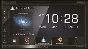 Kenwood Excelon DNX697S 6.8 Clear Resistive Touch Panel Navigation DVD Receiver