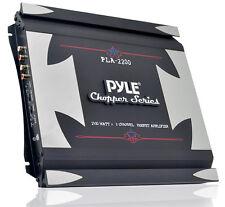 New Pyle PLA2200 2 Channel 1400 Watt Bridgeable Mosfet Amplifier Car Audio Amp