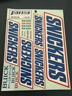 Parma Snickers Decal Sticker Sheet