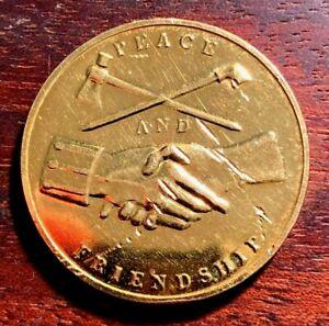 1789 George Washington PEACE & FRIENDSHIP Coin / Token / Medal