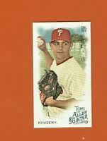 2019 Topps Allen & Ginter Mini Scott Kingery SP #381 Philadelphia Phillies
