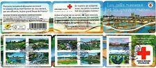 """Carnet BC837 Croix Rouge """"La Loire""""  de 2013 obli 1er jour non plié LUXE"""
