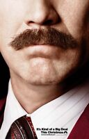 Anker Mann 2 Zweiseitig Original Kinofilm Plakat Ron Weinrot Will Ferrell