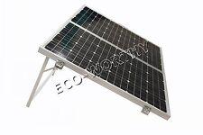ECO 120W Mono Folding Solar Panel Kit Battery Charger Car Motorhome Caravan Boat