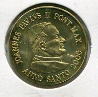 Year 2000 Pope Saint John Paul 11 Vatican Prototype - Trial - Test Coin