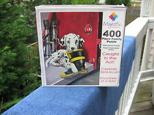 """Majestic Puzzles`""""Caught In The Act"""" 400 Pieces~ New & Factory Sealed!"""
