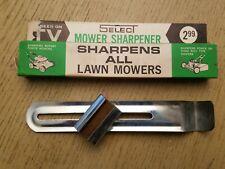 VINTAGE 1960s Western Select Mower Sharpener Tool + Box Lawnmower Power Hand Ree