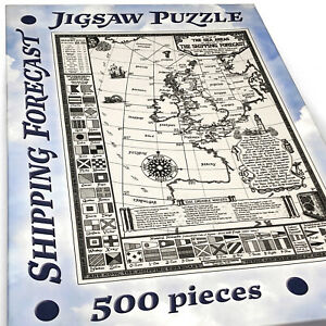 Shipping Forecast Map Jigsaw Puzzle - 500 pieces