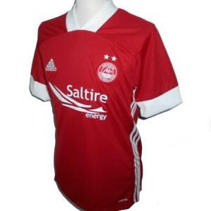 ABERDEEN FC Adidas Home Football Shirt 2020-2021 NEW Men's Soccer Jersey Top Kit