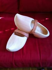 Dutch Wooden TRIP CLOGS PLAIN size 34/35 =23 cm many sizes available