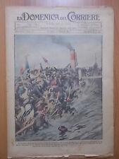 DOMENICA del CORRIERE 35/1922 Marbona, Capizzone, Battaglione Cacciatori Africa