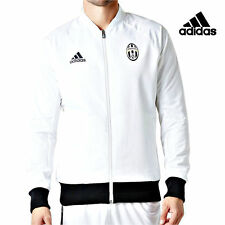 Adidas Juventus Jacke XS Sport Fußball Trainingsjacke Sportjacke Weiß UVP*90€ R6