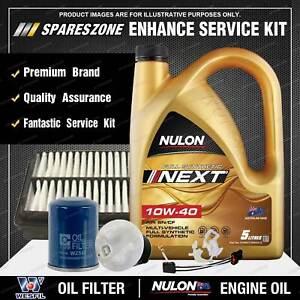 Wesfil Oil Air Fuel Filter + 5L NEXT 10W-40 Oil Kit for Honda Odyssey RA 2.3L