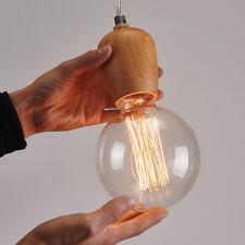 Simple Single Head Vintage Art Ceiling Light Chandeliers Pendant Lamp Home Decor