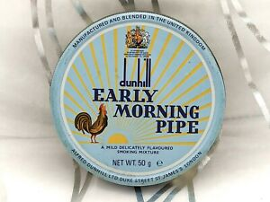 Dunhill Early Morning Pipe- Vintage Pipe Tobacco Tin