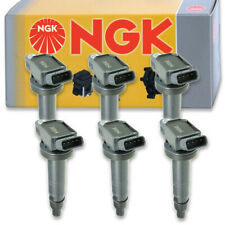 6 pcs NGK Ignition Coil for 2005-2015 Toyota Tacoma 4.0L V6 - Spark Plug vi