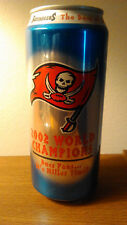 2002 Tampa Bay Buccaneers World Champs - Miller Lite 16oz Can