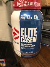 Dymatize Elite Casein 2lb 100% Micellar Casein Protein RICH CHOCOLATE BB 09/21