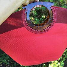 Red Salvatore Ferragamo Tote Exquisite Design