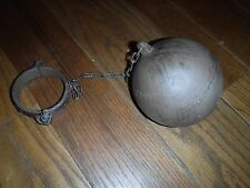 Prison Ball and Chain Shackles