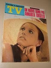 TV SORRISI CANZONI=1971/26=LANA WOOD JAMES BOND GIRL=ANNARITA TORSELLO=PORTER E.