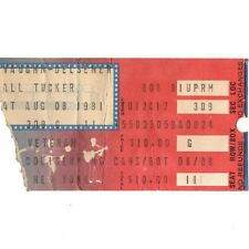 Marshall Tucker & Franke & The Knockouts Concert Ticket Stub 8/8/81 Uniondale Ny