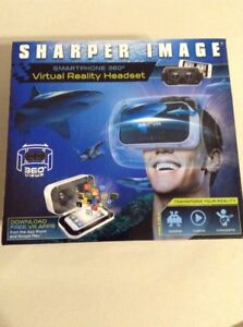 Sharper Images Smartphone 360 Virtual Reality Headset Retails $60.00