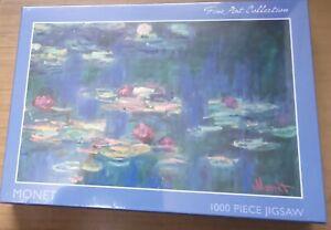 Monet Water Lilies 1000 piece jigsaw