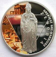 ZENOBIA Greatest She Warriors Silver Coin Togo 2011