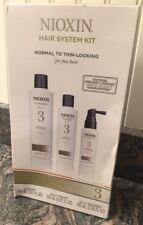 Nioxin System 3 Hair System Kit Normal To Thin Looking For Fine Hair