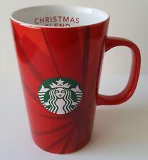 Starbucks 2014 Winter Blend Red Christmas Mug 12 Ounce 12oz 355ml
