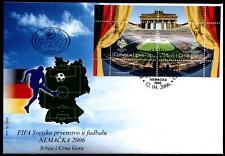 Fußball. WM-2006, Deutschland. FDC.Block. Jugoslawien 2006