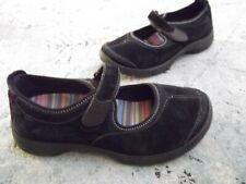 Dansko EDDA Black Suede Mary Jane Shoes 40 / 9.5- 10