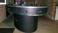 American Heritage Ellipse 6-Player Air Hockey Table