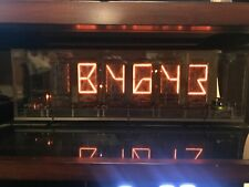 Burroughs B7971 B-7971 15 Segment Alphanumeric Nixie Tube TESTED USA Stock