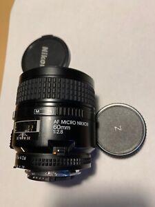 Nikon Micro-NIKKOR 60mm f/2.8 AF Lens