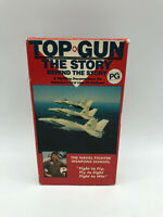 TOP GUN - The Story Behind the Story - Vintage VHS Cassette - Free Post